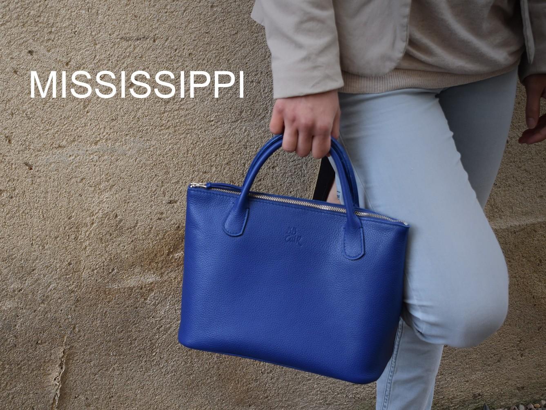 MISSISSIPPI est un sac ultra féminin...